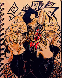 skull by mustabulus