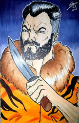 Kraven with a copic markers  by gocudo49