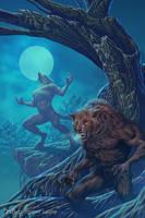 Werewolf by metalratrox