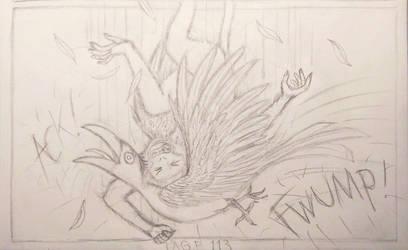 Sable Story - Page 113 W.I.P. - Raining Monkeys by TheFriendlyElephant