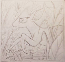 Sable Story - Page 115 W.I.P. - In the Underbrush by TheFriendlyElephant