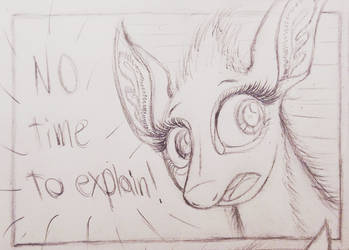Sable Story - Page 119 W.I.P. - No Time by TheFriendlyElephant