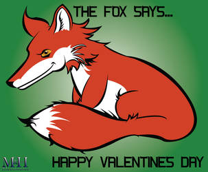 Fox Valentine by Icedragon529