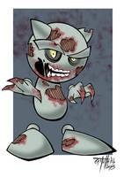 Fella Zombie by johncastelhano
