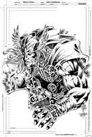 Thor mythological by johncastelhano