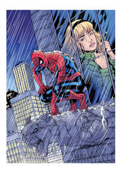 Spidey Remembers (color) by johncastelhano