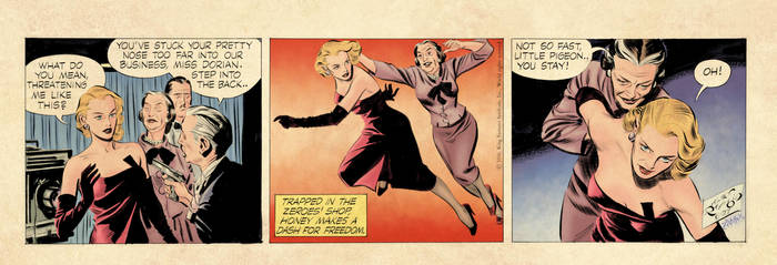 Rip Kirby 6-27-1956 (color) by johncastelhano