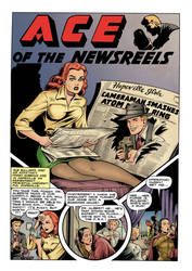 Ace of the Newsreels (color) by johncastelhano