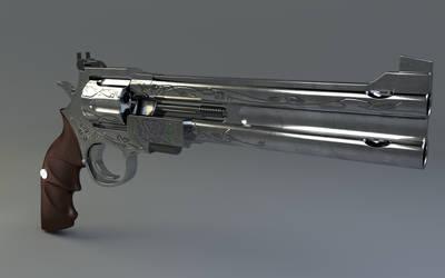[DMC] Blue Rose - Nero's Gun by Olotocolo