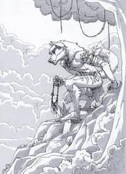 Vantarius the hunter by MenacingChicken