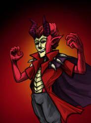 The Crimson Prince by MenacingChicken