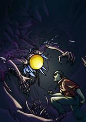 The light in the dark by MenacingChicken