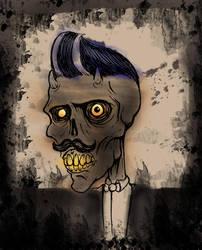Old man Skull by HorrorRudey