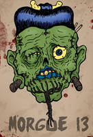 Shrunken Head by HorrorRudey