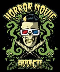 Horror Movie addict by HorrorRudey