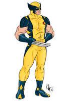 Heroic Age Wolverine by Kaufee
