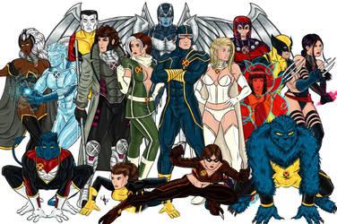 -Giant-Sized X-Men- by Kaufee