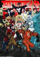 -All-New Thunder Force- by Kaufee