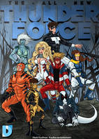-The All-New Thunder Force- by Kaufee
