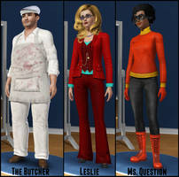 More WordGirl Sims by Cartooniack1994