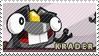Krader stamp by pervyspotracoonplz