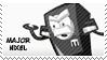 Major Nixel stamp by pervyspotracoonplz