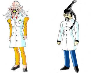 dragon ball professeur clop et jackie wok by justice-71