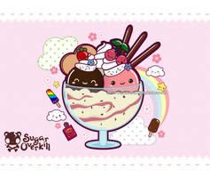 Kawaii Ice Cream by mAi2x-chan