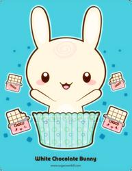 White Truffle Bunny by mAi2x-chan