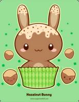 Hazelnut Truffle Bunny by mAi2x-chan