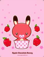 Apple Chocolate Truffle Bunny by mAi2x-chan