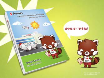 Kawaii Red Panda E-book Cover by mAi2x-chan