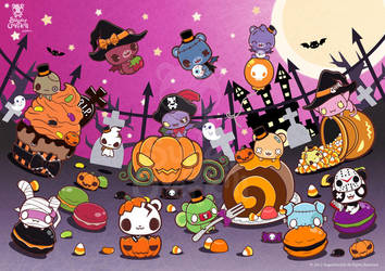 Halloween Candy Party by mAi2x-chan