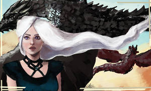 Daenerys Targaryen by stunsail