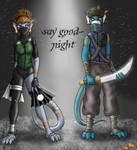 say good-night by Calder