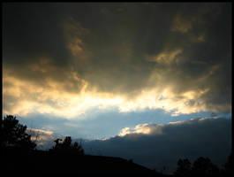 Majestic Sky: Heaven Slashed by Calder