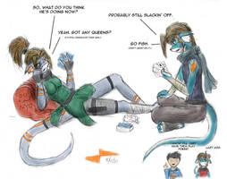 Pal and Koru: Idle by Calder