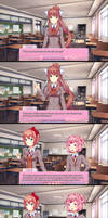 #1 - Sayori's thought by Childish-N