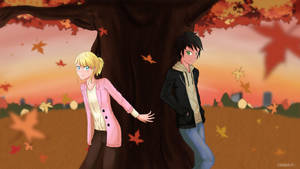 Autumn Rendezvous by Childish-N