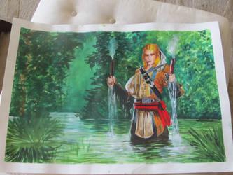 Rick en los manglares by gabivampire