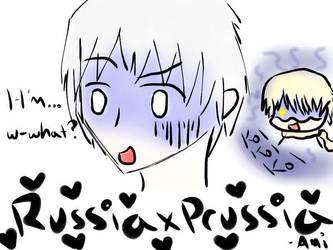 Prussia + Russia....MPREG by theepicmellofangirl