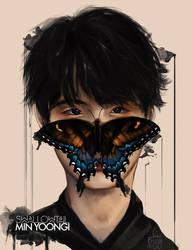 Min Yoongi: SwallowTail by IntoTheFrisson