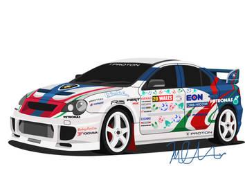 Proton Persona 'Persona 4WD Turbo' by J-Ahmad