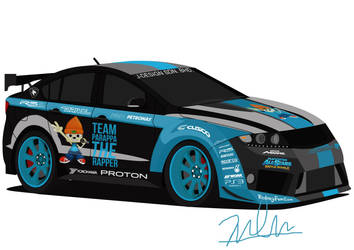 Proton Preve 'Team Parappa the Rapper' by J-Ahmad
