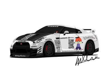 Nissan GTR 'GT-Rappa' by J-Ahmad