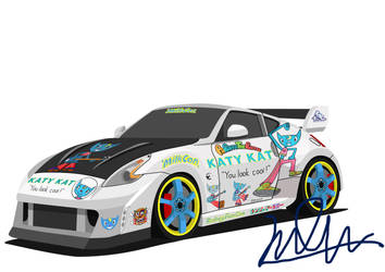 Nissan Fairlady Z Z34 'Katy Kat' by J-Ahmad