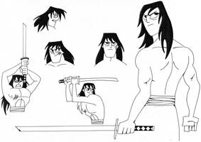 Samurai Jack on the Loose by Nes44Nes