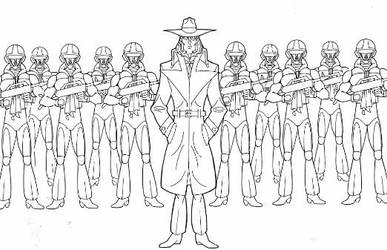 Sololman and the M3 Soldiers by Nes44Nes
