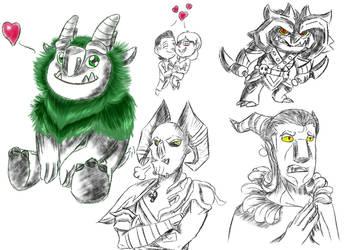 Little Trollhunters bebes =3= by PastellTofu
