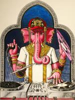 Commission - Ganesh by Amarynceus